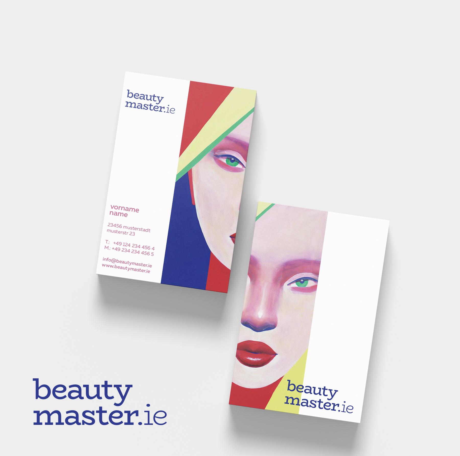 Logo Visitenkarte Für Kosmetik Logo Visitenkarte