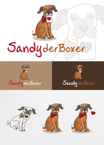 Logo for Dogs website en folder
