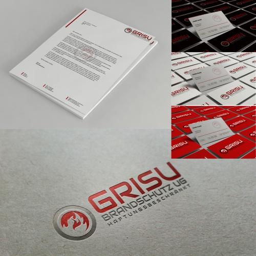 Corporate Design für Brandschutzsachverständigenbüro