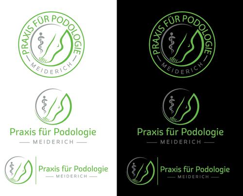 Logo-Design für Podologie-Praxis