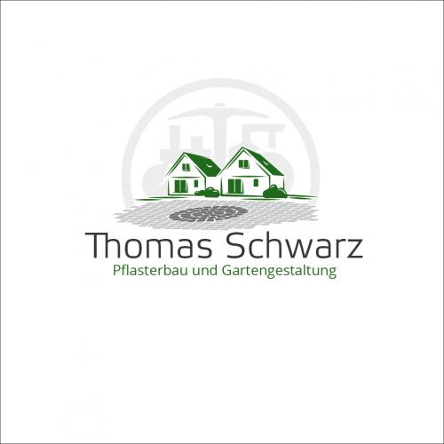 Logo-Design für Pflasterbau und Gartengestaltung