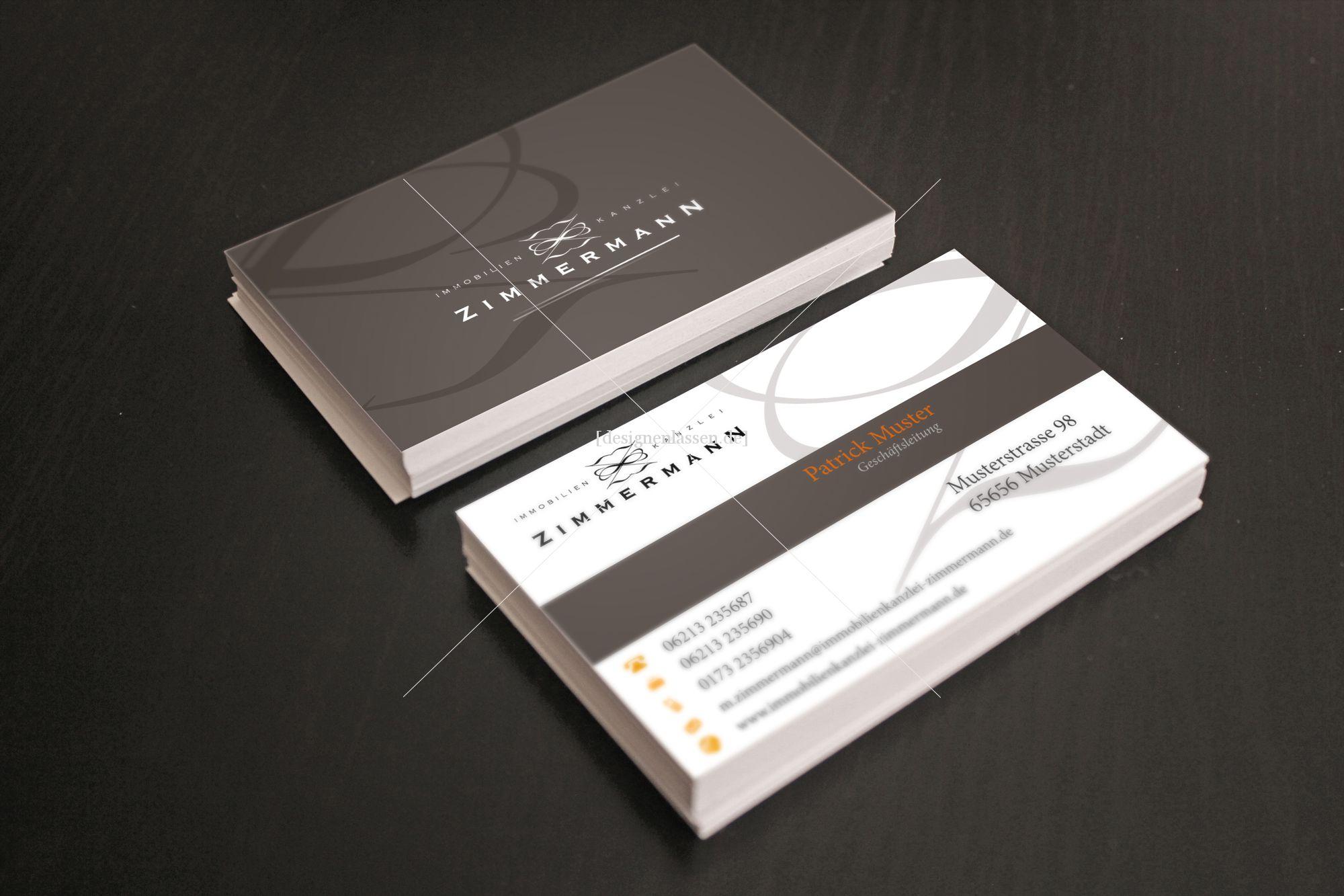 Ikz Visitenkarten Briefpapier Visitenkarten Design
