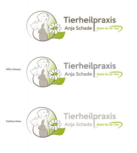 Logo-Design für Tierheilpraxis