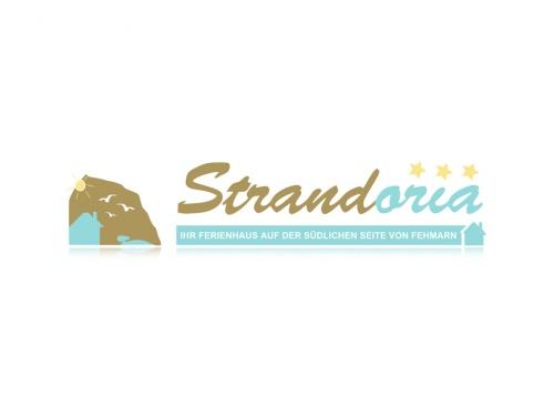 """""""Strandoria"""" - Huis zoekt Logo"""