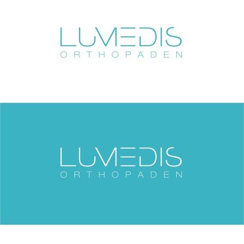 Logo-Design für seriöse, hochwertige Orthopädiefacharztpraxis
