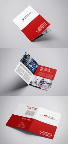 Flyer-Design für IT-Dienstleister und Systemhaus