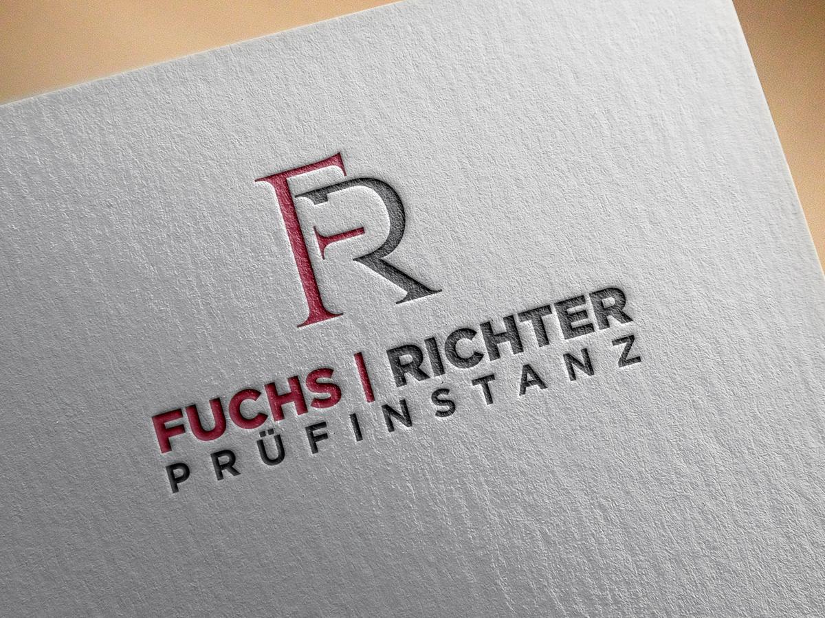Logo Visitenkarten Design Für Prüfinstanz Logo