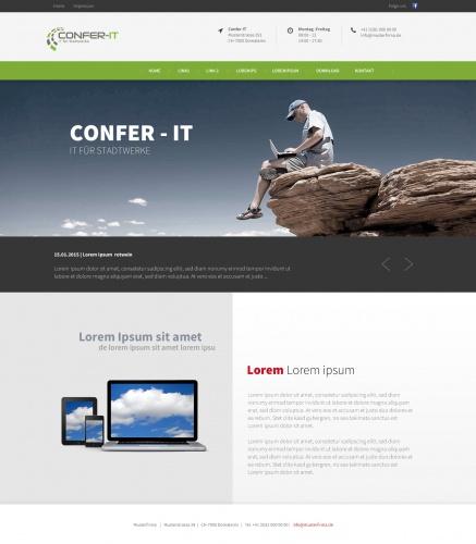 Website Confer-IT