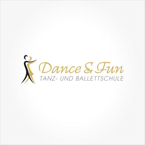 Logo-Design für Tanz- und Ballettschule