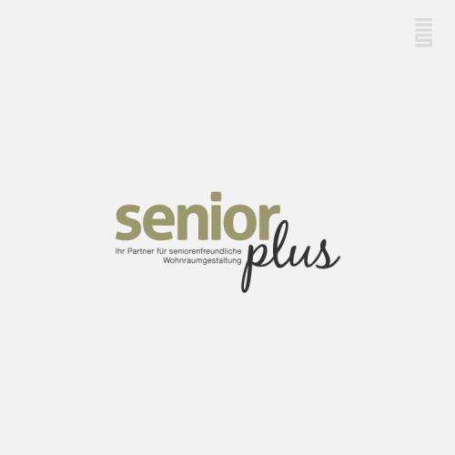 Logodesign für Seniorenwohnberatung senior+