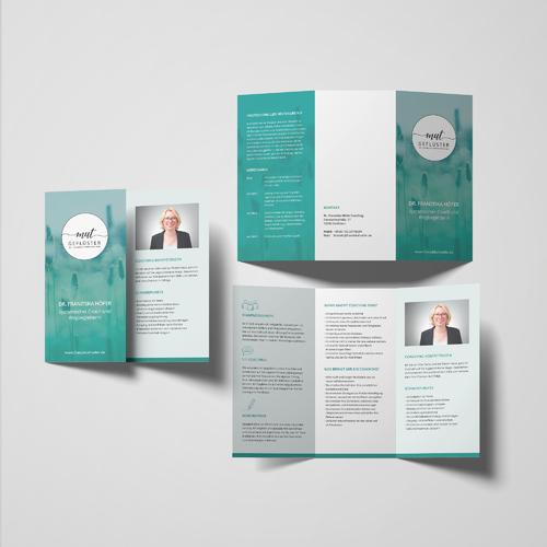 Flyer-Design für individuelle Einzelcoachings