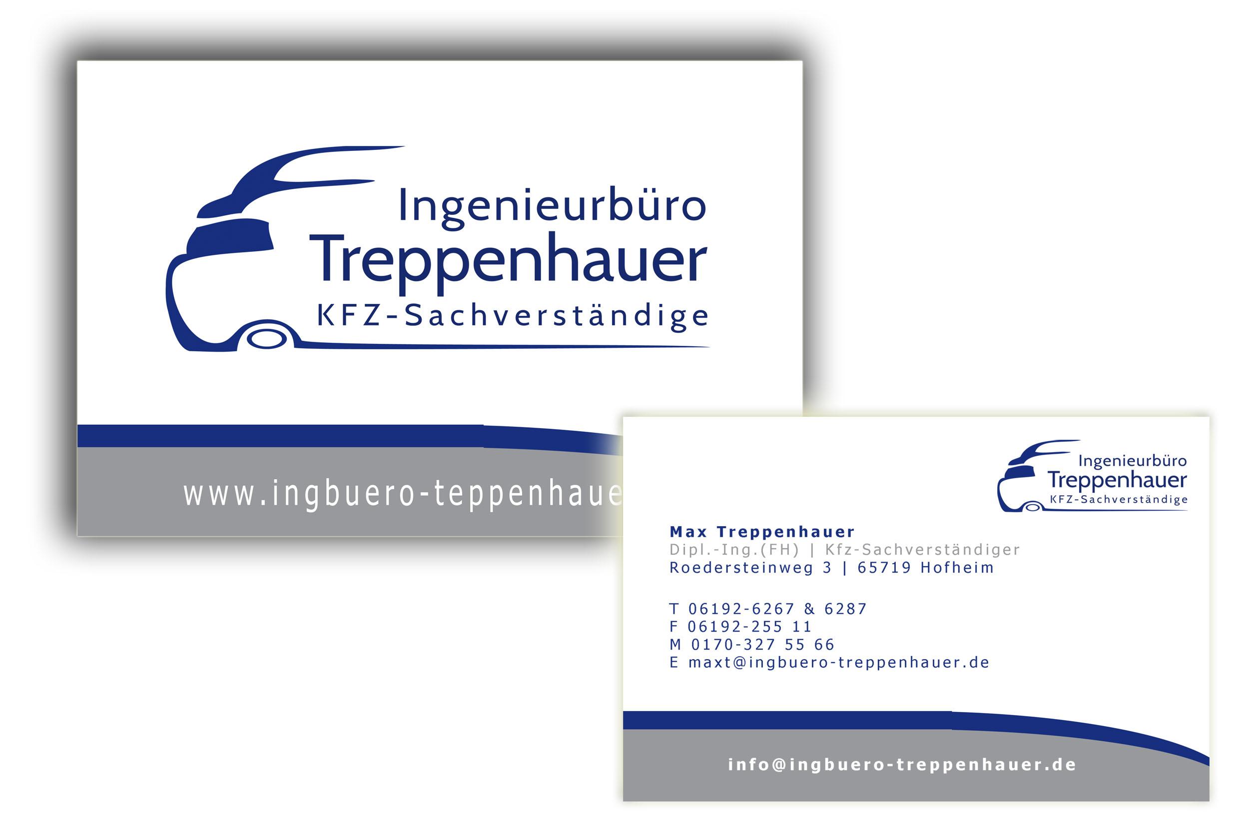 Visitenkarten Für Kfz Sachverständigenbüro Ing