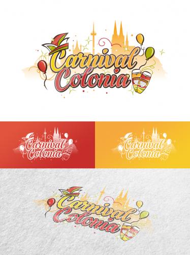 Logo-Design für Karnevalspartys