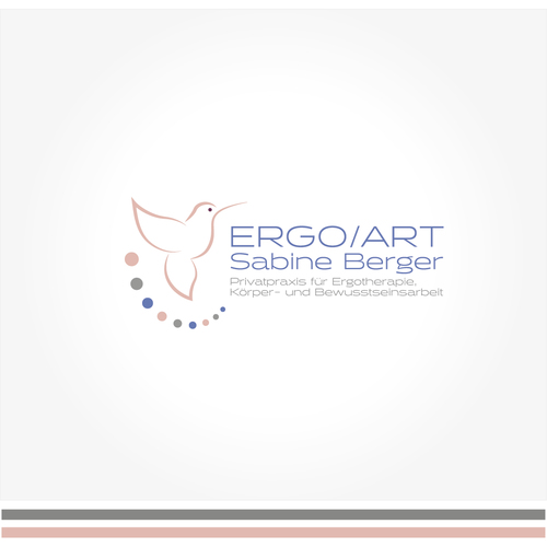 Logo-Design für ergotherapeutische Praxis