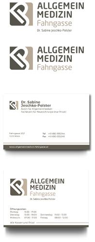 Logo & Visitenkarte für Praxis für Allgemeinmedizin