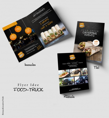 flyer design für food truck flyer design design briefing