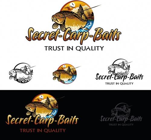 Logo-Design für Hersteller von hochwertigen Karpfenködern