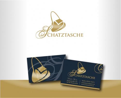 Logo und Visitenkarte für Handtaschenparty-Veranstalter