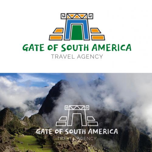 Logo-Design für peruanische Reiseagentur