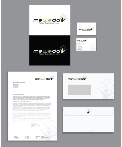 Corporate Design für Kommunikations- und Verwaltungsnetzwerk