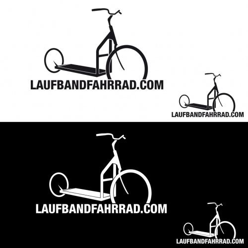 Logo-Design für Laufbandfahrrad