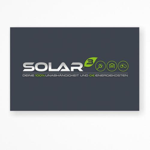 Logo & Visitenkarte für Beratung rund um erneuerbare Energie-Anlagen
