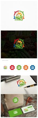 Logo-Design für Bio-Lebensmittelhof