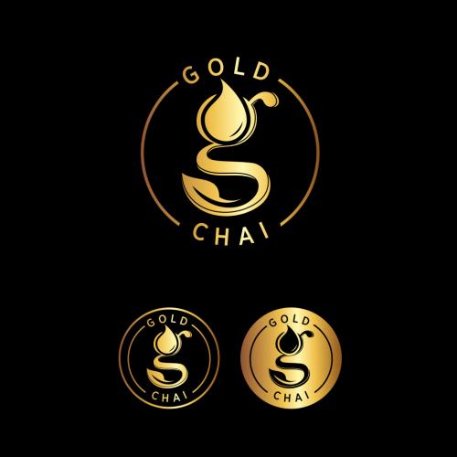 Modernes Logo für veganen Chai Sirup