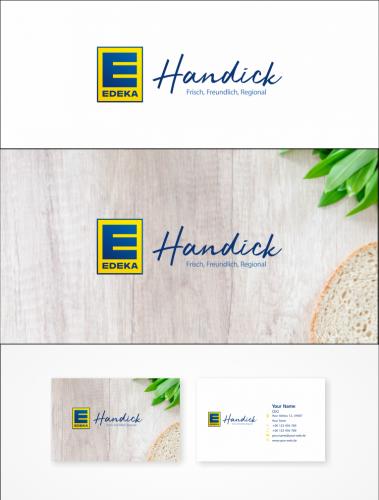 Logo & Visitenkarten-Design für Lebensmitteleinzelhandel