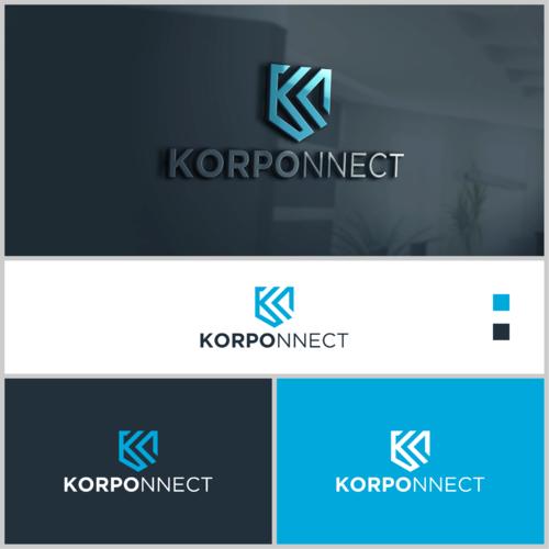 Logo-Design für die Erstellung von Social-Networking-Apps