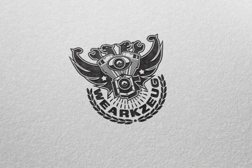 Online Shop onderzocht Logo (Auto Scene)