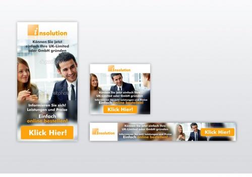 Unternehmensberatung sucht Design für Werbemittel Banner