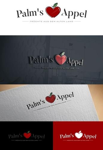 Logo-Design für den Handel von Obst