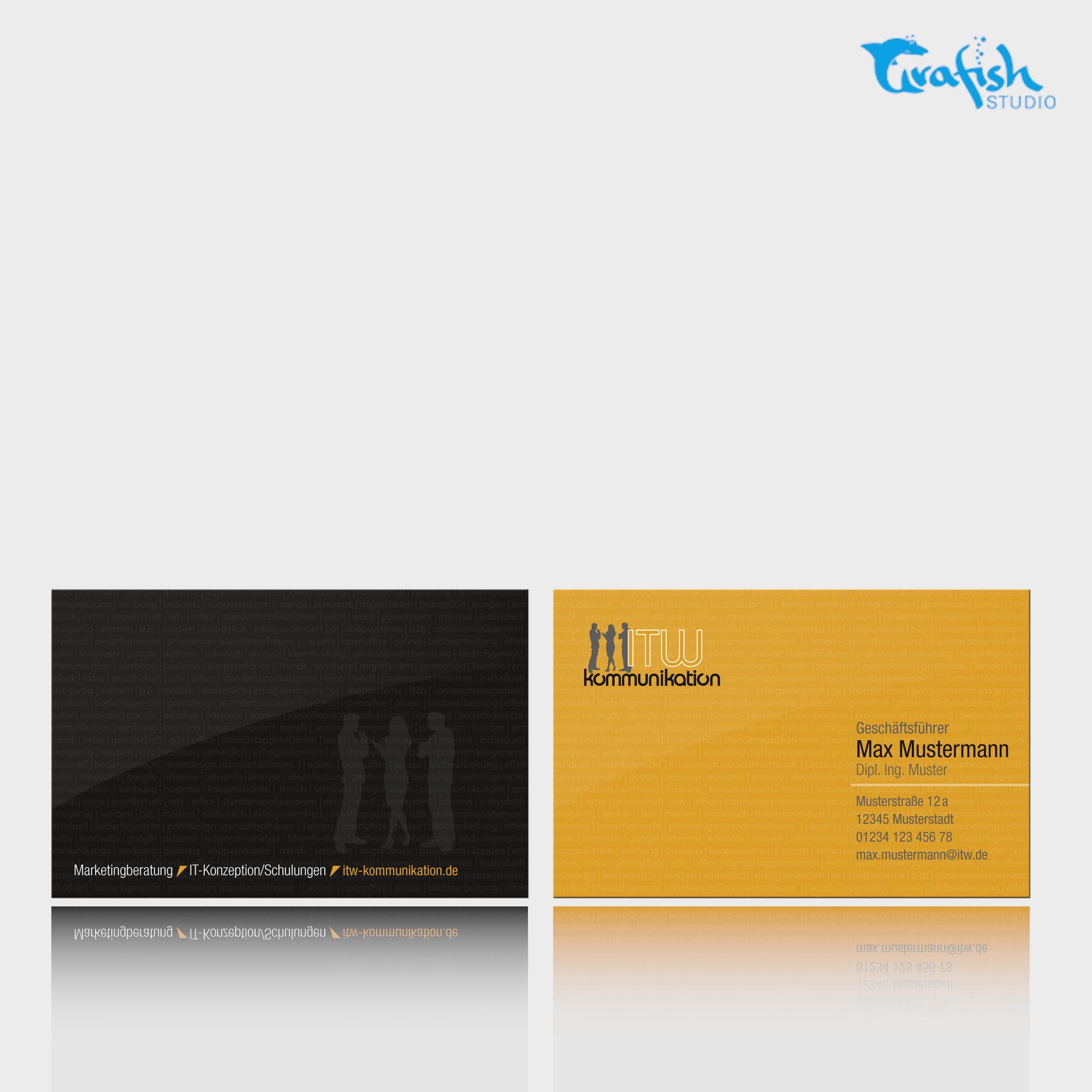 Visitenkarten Und Briefpapier Für Freiberufler Business