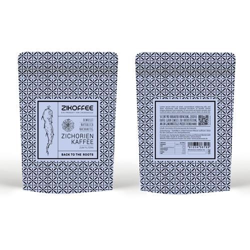 Verpackungsdesign für Zichorienkaffee