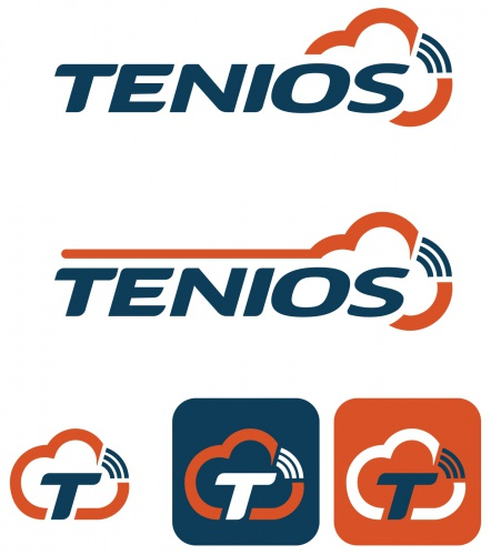 Logo-Design for cloud communication platform TENIOS