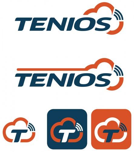 Logo-Design for cloud communication platform TENIOS