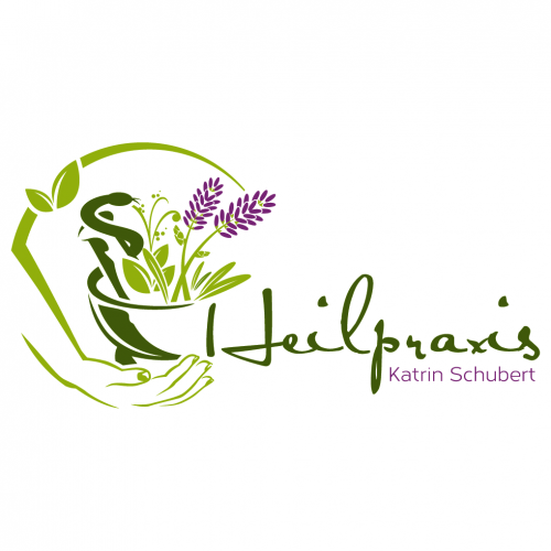 Logo-Design für Heilpraktikerin mit Therapieschwerpunkten Homöopathie, Pflanzenheilkunde, Akupunktur, Traumatherapie
