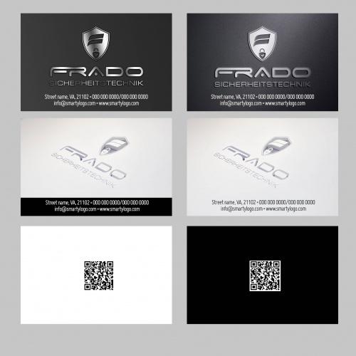 Logo-Design für junges Unternehmenim Bereich der Sicherheits- und Gefahrenmeldetechnik