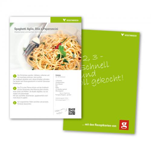 stylische Rezeptkarte im Format A5 » Design » designenlassen.de
