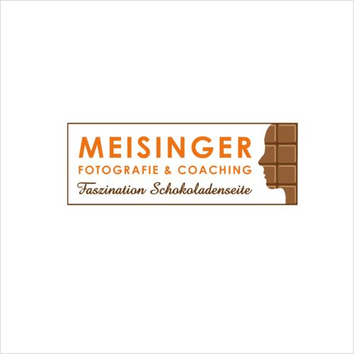 Logo-Design für Business Fotografie mit Bezug auf Fotografie & Schokolade
