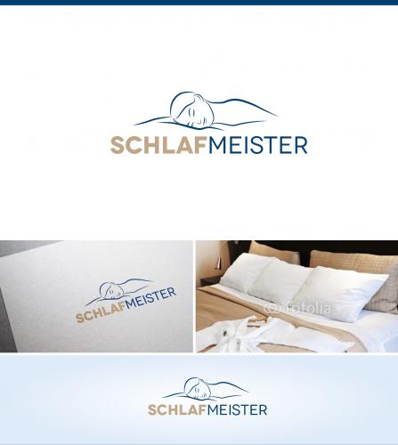 Logodesign für Marke - Thema Schlafen