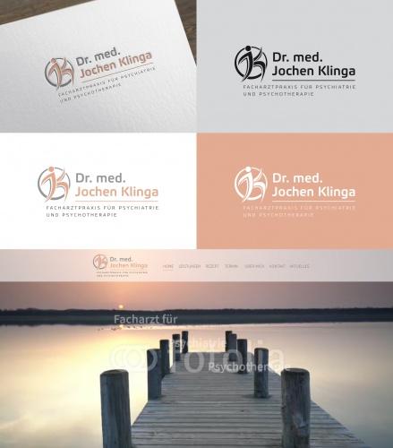 Logo-Design für Facharztpraxis für Psychiatrie und Psychotherapie