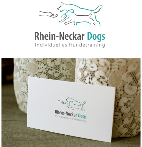 Logo-Design für Hundetrainerin