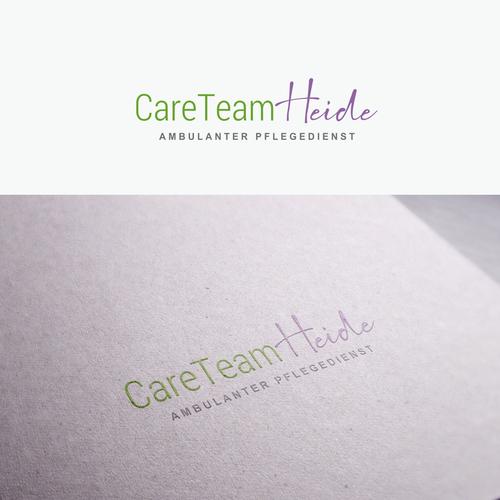Logo-Design für jungen und modernen ambulanten Pflegedienst im ländlichen Bereich