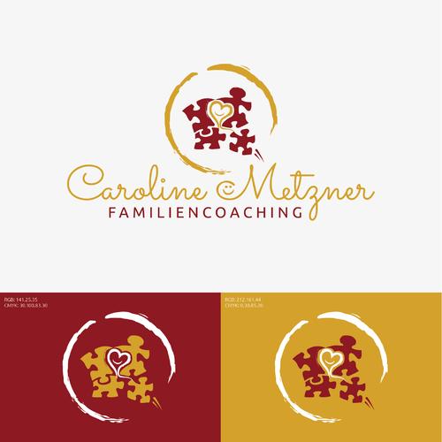 Logo-Design für Familiencoaching