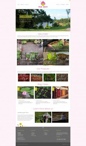 Web-Design für Namkhanecofarm.com