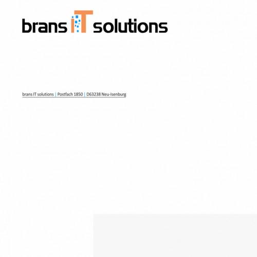 Briefpapier für IT-Dienstleister