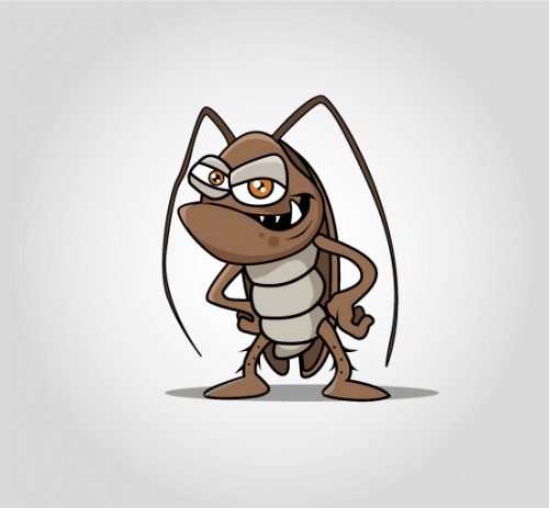 Illustrationen für Schädlingsbekämpfung
