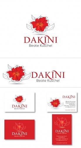 Logo-Design für Körpertherapie, Massage, Tantra, Life Coaching -  Berührung von Körper Seele und Geist